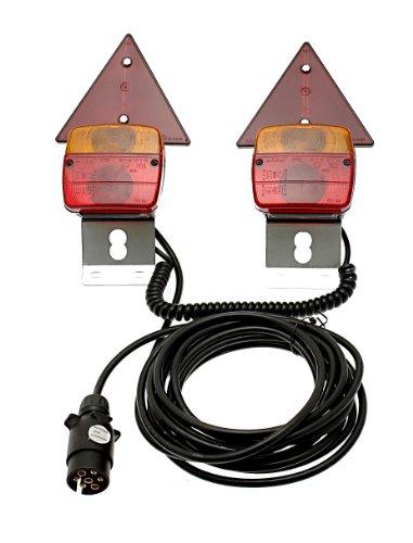 Amber Bulb Cover (Maypole 4412A Rückleuchten, magnetisch)