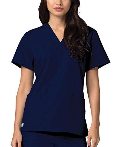 Medizinische Uniformen Unisex Top Krankenschwester Krankenhaus Berufskleidung 601 Color Nvy | Talla: M - 3