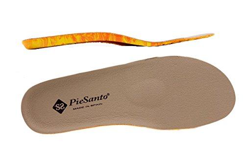 Scarpe donna comfort pelle PieSanto 1157 Sandali Plantare Estraibile larghezza speciale Visón