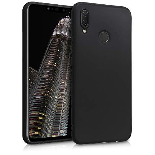 kwmobile Huawei P Smart+ Plus/Nova 3i Hülle - Handyhülle für Huawei P Smart+ Plus/Nova 3i - Handy Case in Schwarz matt
