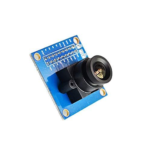 LIUYUNE,Modulo Telecamera VGA da 300KP per Arduino(Color:Blu)
