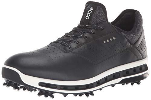 ECCO, Scarpe da Golf Uomo, Nero (Black Dritt), 41 EU