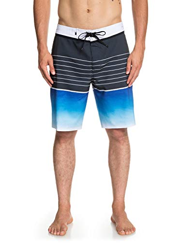 Quiksilver Highline Slab 20' Boardshort Homme, Electric Royal, FR : M (Taille Fabricant : 32)