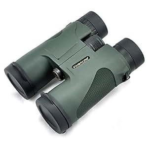 GONGXI Visionking 10x42 Chasse Jumelles Télescope toit vert 100 beaucoup de gros