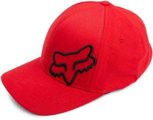 Fox Herren Flexfit Cap 45 Flex, Red, S/M, 58379-003 (Nadelstreifen-hut Baseball)