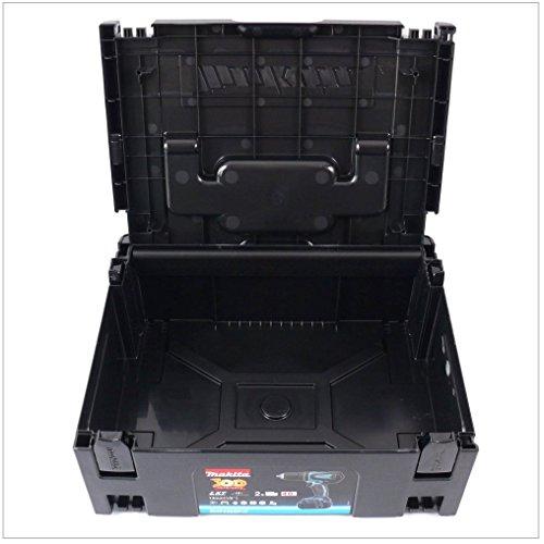 Makita Makpac Gr. 2 Transportbox und Werkzeugkiste — schwarz — - 3