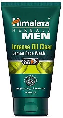Himalaya MEN Intense Oil Clear Lemon Face Wash, 100ml