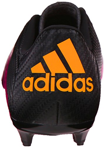 Adidas bambini X 15.3 Fg/ag J Calcio Cleat Black/Shock Pink/Gold
