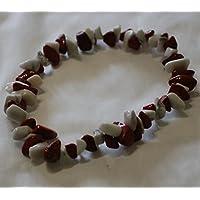 Howlith und roter Jaspis Chip Bead Crystal Healing Armband preisvergleich bei billige-tabletten.eu