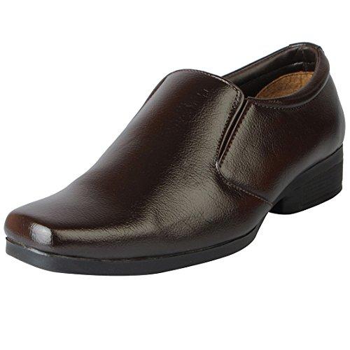 BATA Men's Remo 29 Brown Formal Shoes - 7 UK/India (41 EU)(8514529)