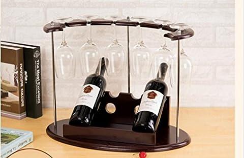Porte-bouteilles, casier à vin de style européen, porte-bouteilles, décoration