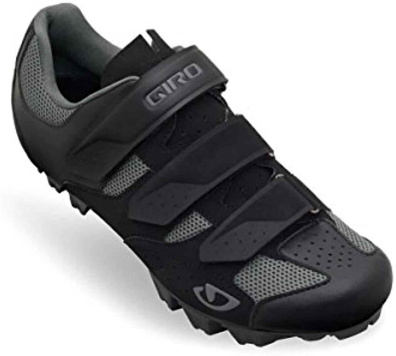 Giro Herraduro MTB zapatos, hombre, negro y gris  -