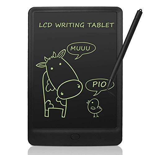 conecto LCD Schreibtafel digital Writing Tablet Grafiktablet Schreib-/Malbrett 10 Zoll, schwarz