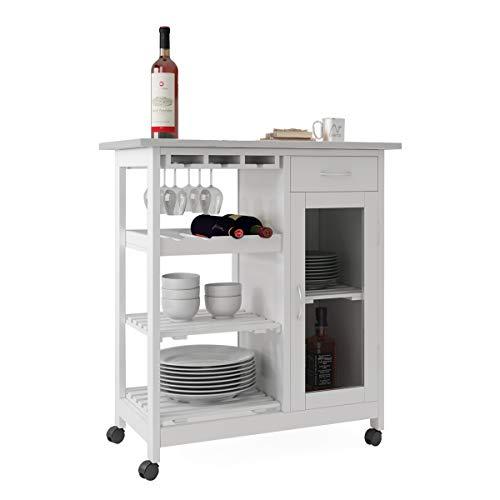 carrello da cucina carrello da cucina carrello da microonde con cassetti chiudibili con serratura cassetti per vini armadietto di stoccaggio piano di lavoro