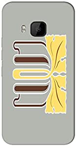 Timpax protective Armor Hard Bumper Back Case Cover. Multicolor printed on 3 Dimensional case with latest & finest graphic design art. Compatible with only HTC - M9. Design No :TDZ-21096