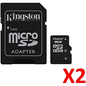 2X Kingston Class 4 Micro-SDHC Secure Digital: Amazon.es ...