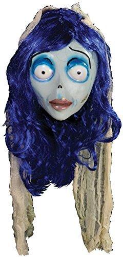 urton Corpse Bride Emily Victor Profi-Qualität handbemalt Sculpted Halloween Cosplay Konvention Kostüm Kleid Outfit Maske (Corpse Bride Cosplay Kostüm)