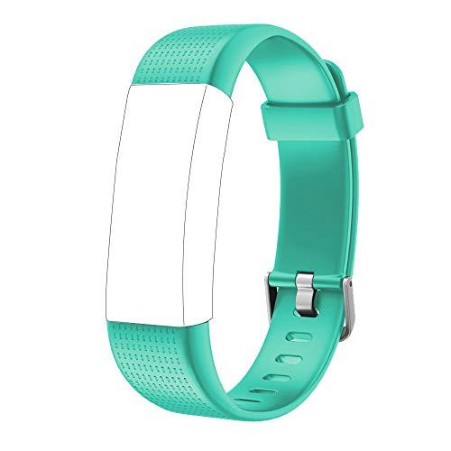Willful Ersatz Armband für Fitness Tracker ID130Plus Color HR (Grün)