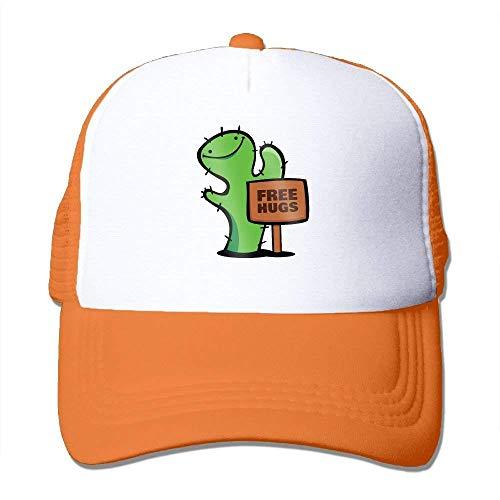 d721b1f249864b Wdskbg Cactus Free Hugs Adjustable Sports Mesh Baseball Caps Trucker Cap  Sun Hats Unisex20