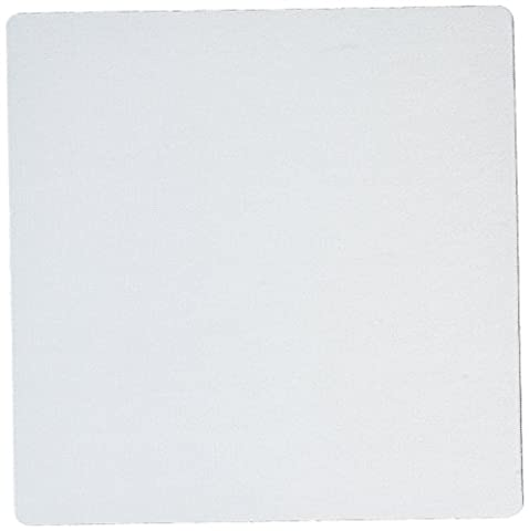 3dRose Plain baby blue - light pale pastel powder sky blue - Mouse Pad, 8 by 8 inches (mp_159846_1)