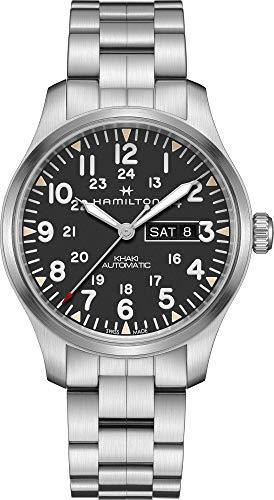 Hamilton Reloj de Hombre automático 42mm Correa y Caja de Acero H70535131