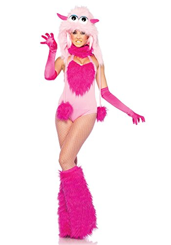 Leg Avenue 53211 - Cotton Candy Monster Kostüm, 2-teilig, Größe S, (Halloween Cotton Candy Kostüme)