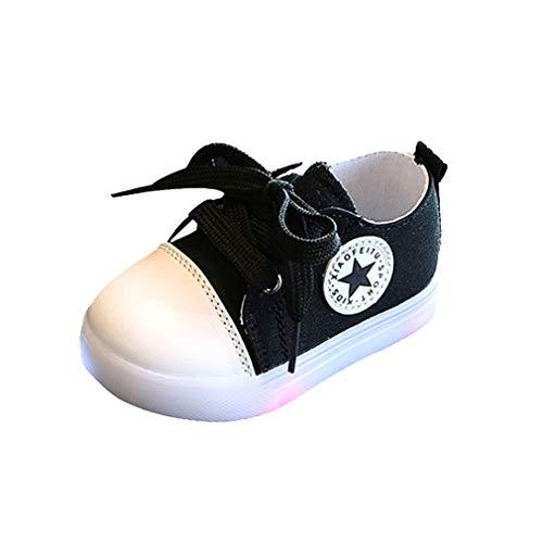Bild von Jungen Mädchen Sneakers Mode Blinkschuhe Low-Top Casual Outdoor Sneakers Baby Kinder Laufschuhe Sportschuhe Hallenschuhe Schnürschuhe Baby Kleinkind Schuhe