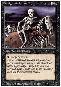 Skeletons Drudge (Magic: the Gathering - Drudge Skeletons - Revised Edition by Magic: the Gathering)