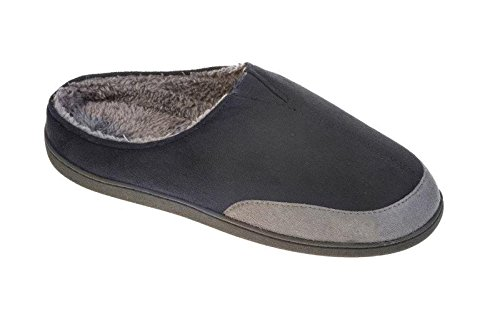 Mens Coolers Mule Slip On Clog Slippers Lightweight with Elasticated V Gusset Sizes 7-12