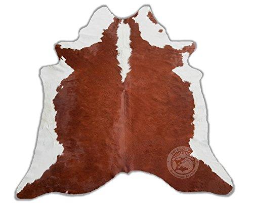 ALFOMBRA DE PIEL DE VACA - Modelo Hereford HF1 - Tamaño: 220 x 200 cm
