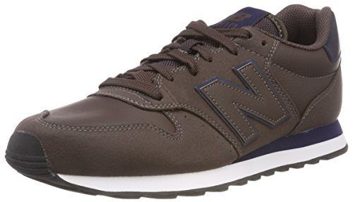 New Balance 500, Sneaker Uomo, Marrone (Dark Brown/Navy DBN), 42 EU