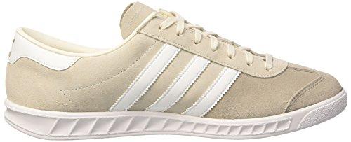 adidas Men's Hamburg Trainers, Multicolore (Cwhite/Ftwwht/Peagre), 10