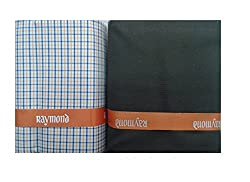 Raymond Mens Unstiched Pre-matched Shirt & Trouser FabricSet