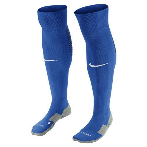 Nike Herren Fußball Stutzenstrumpfe Team MATCHFIT Core OTC Socks, Royalblau/Navy Blau/Weiß, M, 800265-463