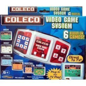 Coleco 6 in 1 Video Game System Plug N Play by techno source 1 Source Video