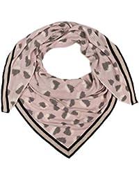 2d3fe3fed927d4 Zwillingsherz Dreieckstuch mit Kaschmir - Hochwertiger Schal im trendigem  Design für Damen Jungen und Mädchen -