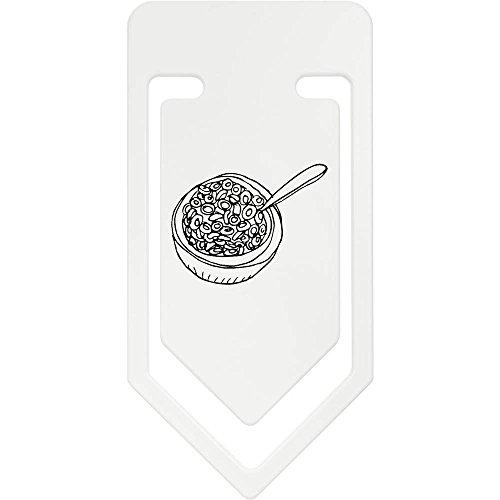 Azeeda 141mm 'Schüssel Müsli' Riesige Plastik Büroklammer (CC00029170)