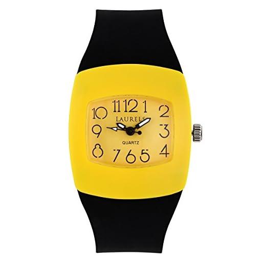 41rI qkS87L. SS510  - Laurels Kids 5 Yellow Kids Lo Kd 5008 watch