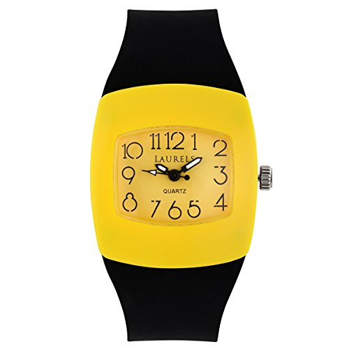 41rI qkS87L - Laurels Kids 5 Yellow Kids Lo Kd 5008 watch