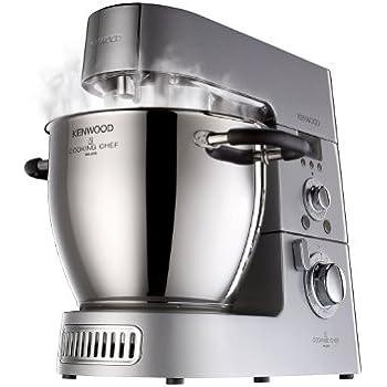Kenwood KM 086 Küchenmaschine (1500 Watt, 3 Liter, LC-Display) silber