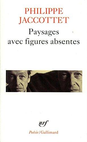 Paysages avec figures absentes