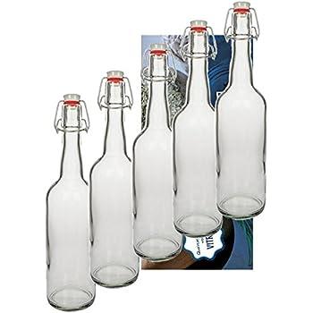 10 glasflaschen 750ml mit b gelverschluss b gelflasche glas glasflasche smoothie zum. Black Bedroom Furniture Sets. Home Design Ideas