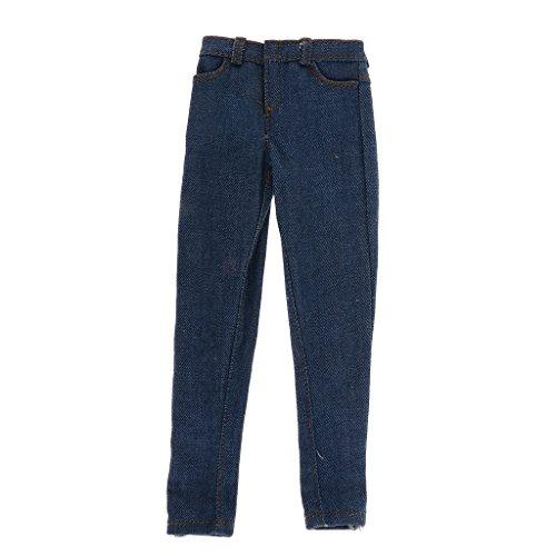 1:6 Pantalones Vaqueros de Hombres para Figura 12...