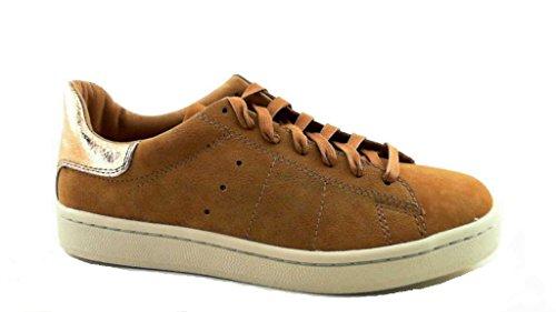 Esprit 086ek1w021235 Gwen Lace Up Damen Sneaker Braun