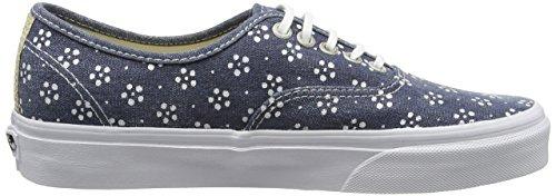 Vans Authentic, Sneakers mixte adulte Bleu (Webbing/Batik/Navy)