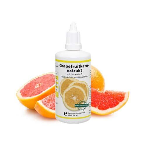 GKE-Shop | Grapefruitkernextrakt - Tropfen Zur Steigerung Des Wohlbefindens | 1er Pack (1 x 100 ml Lösung)