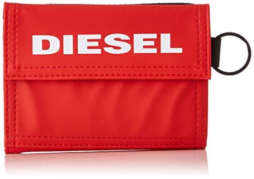 Diesel yoshi, portafoglio uomo, rosso (fiery red), 5.4x11x13.5 centimeters (w x h x l)