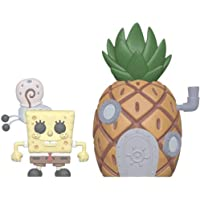 Funko 39547 POP Town Squarepants-Spongebob with Pineapple Collectible Figure, Multicolor