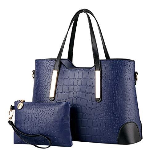 OIKAY Mode Damen Tasche Handtasche, Schultertasche Umhängetasche Mode Neue Handtasche Frauen Umhängetasche Schultertasche Strand Elegant Tasche Mädchen 0410@046
