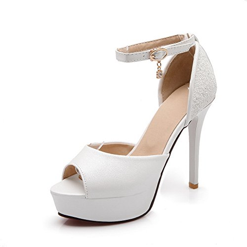 1to9, Sandales Femme Blanc